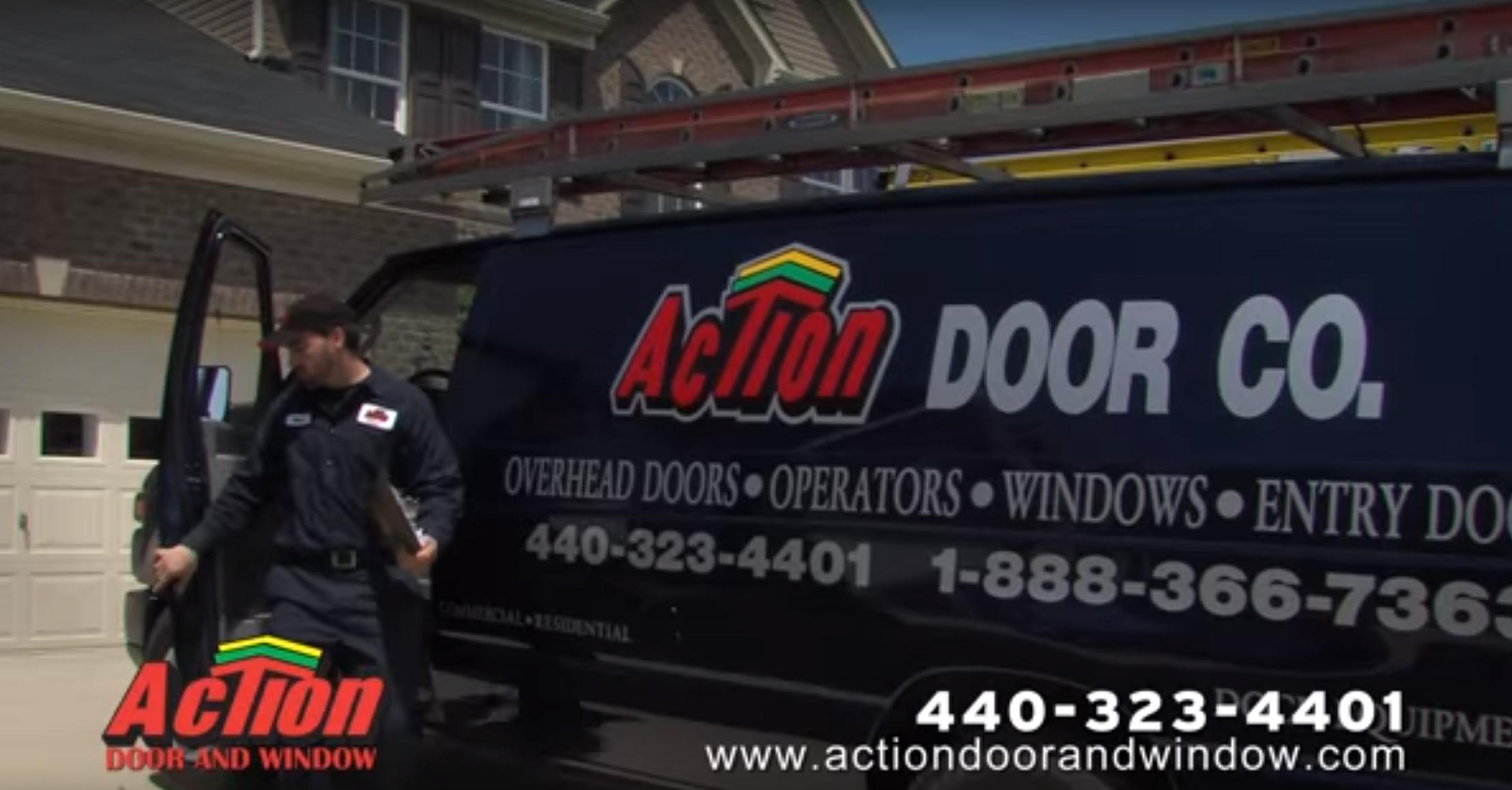 action door van
