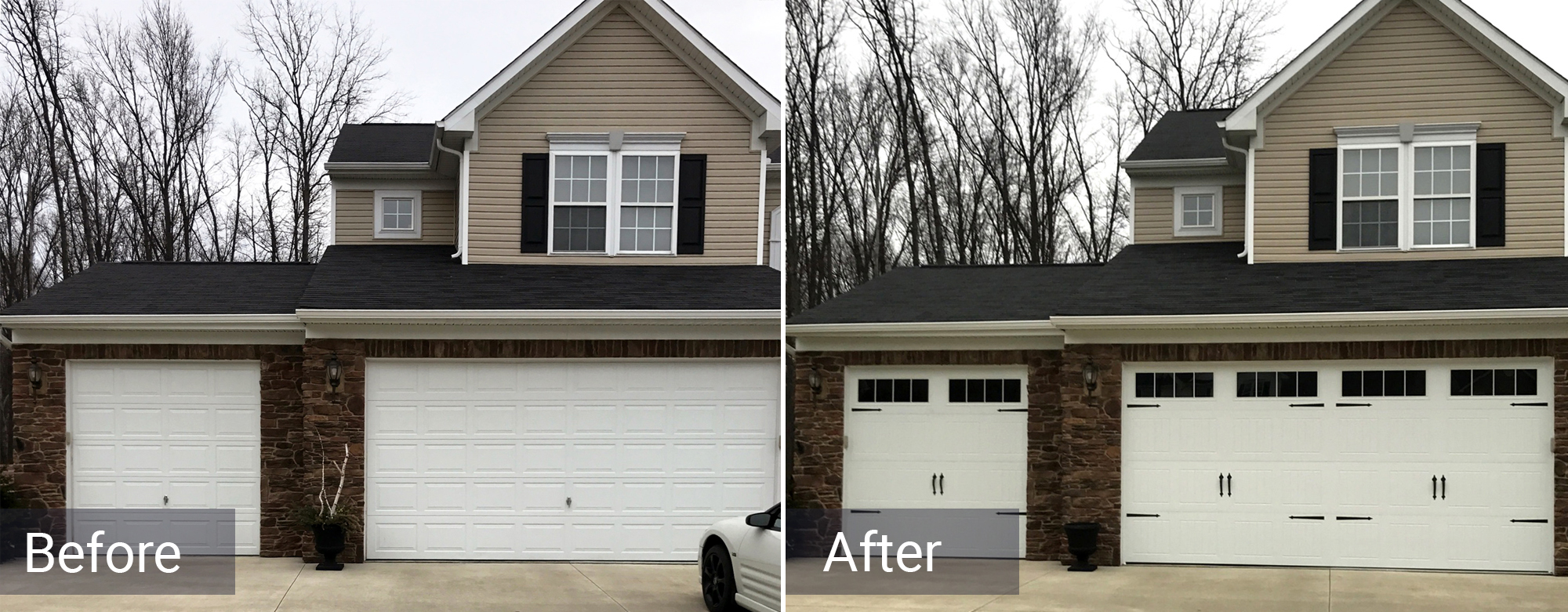 Residential Garage Door Action Door And Window Elyria